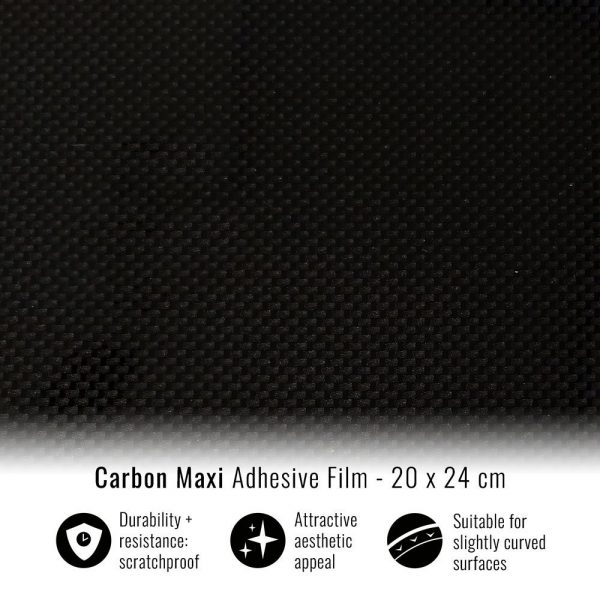 pellicola adesiva per wrapping carbon maxi 20x24