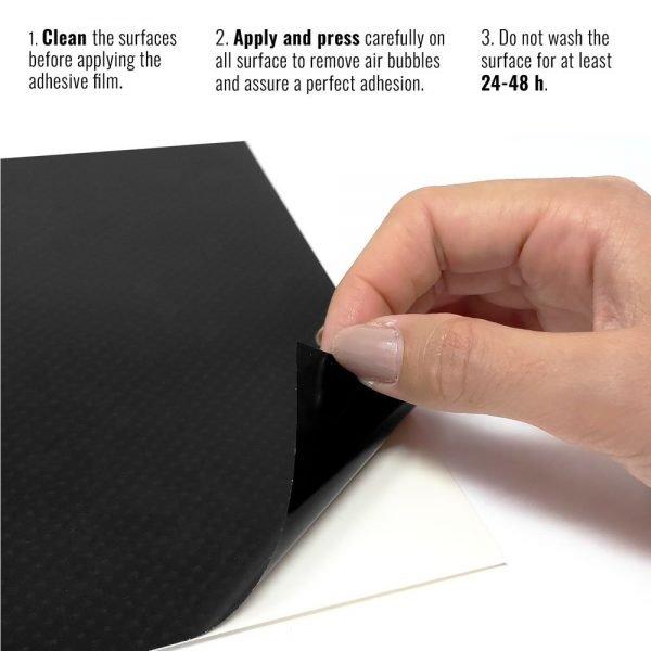 pellicola adesiva per wrapping carbon maxi istruzioni