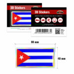 3D-Stickers-Bandiera-Cuba-463-B