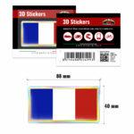 3D-Stickers-Bandiera-Francia-499-B