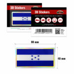3D-Stickers-Bandiera-Hoduras-14001-B