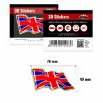 3D-Stickers-Bandiera-Inghilterra-Onde-14008-B