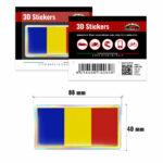 3D-Stickers-Bandiera-Romania-14060-B