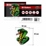 3D-Stickers-Cobra-14046-B