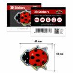 3D-Stickers-Coccinella-474-B