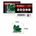 3D-Stickers-Green-Life-14119-B