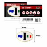 3D-Stickers-Ovale-I-Bandiera-130-B