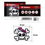 3D-Stickers-Teschio-Fiocchio-14043-B