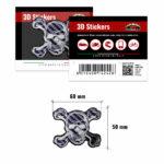 3D-Stickers-Teschio-Hi-Lux-14242-B