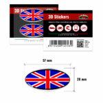 3D-Stickers-Ovale-Bandiera-Inghilterra-14018-B