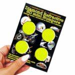 Adesivi-Rifrengenti-3D-Cerchi-Giallo-Auto-Moto-B