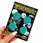 Adesivi-Rifrengenti-3D-Cerchi-Verdi-Auto-Moto-B