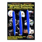 Adesivi-Rifrengenti-3D-Frecce-Blu-Auto-Moto-A