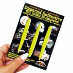 Adesivi-Rifrengenti-3D-Frecce-Giallo-Auto-Moto-B