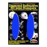 Adesivi-Rifrengenti-3D-Ovali-Blu-Auto-Moto-A
