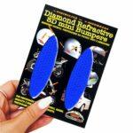 Adesivi-Rifrengenti-3D-Ovali-Blu-Auto-Moto-B