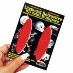 Adesivi-Rifrengenti-3D-Ovali-Rosso-Auto-Moto-B