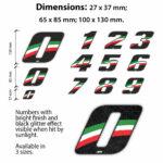 Numeri-Moto-Tricolore-Italy-Dimensioni