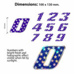 Numeri-Stelle-Olografici-Misure
