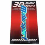 Sticker-3D-Motorsport-Blu-B