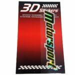 Sticker-3D-Motorsport-Nero-B