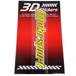 Sticker-3D-Motorsport-Oro-B