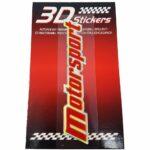 Sticker-3D-Motorsport-Rosso-B
