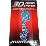Sticker-3D-Racing-Blu-B