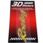 Sticker-3D-Racing-Oro-B