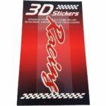 Sticker-3D-Racing-Rosso-B