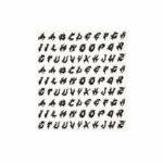 lettere-adesive-componibili-tribal-nero-oro