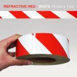 Stripes-Rifrangente-Bianco-Rosso-15mm-X-1mt