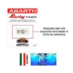 abarth-adesivo-racing-tabs-etichetta-olografica
