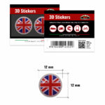 3D-Stickers-Inghilterra-12mm-14302-B