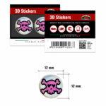 3D-Stickers-Teschio-Rosa-12mm-14306-B