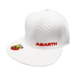 cappello-abarth-visiera-piatta-bianco