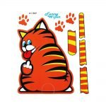 Funny-Wiper-Gatto-Marrone-1247-A