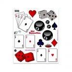 Stickers-Giganti-Carte-palla-8-Dadi-999