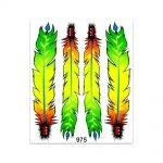 Stickers-Giganti-Piume-Colorate-975