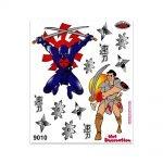 Stickers-Giganti-Samurai-Ninja-9010
