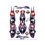 Stickers-Giganti-Teschio-Semi-Carte-9014