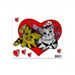 Stickers-Medi-Gattini-Love-8061